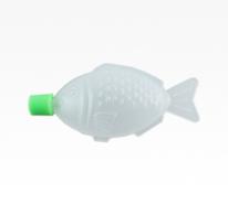 小鱼型塑料酱油瓶,瓶盖8ml对称鱼